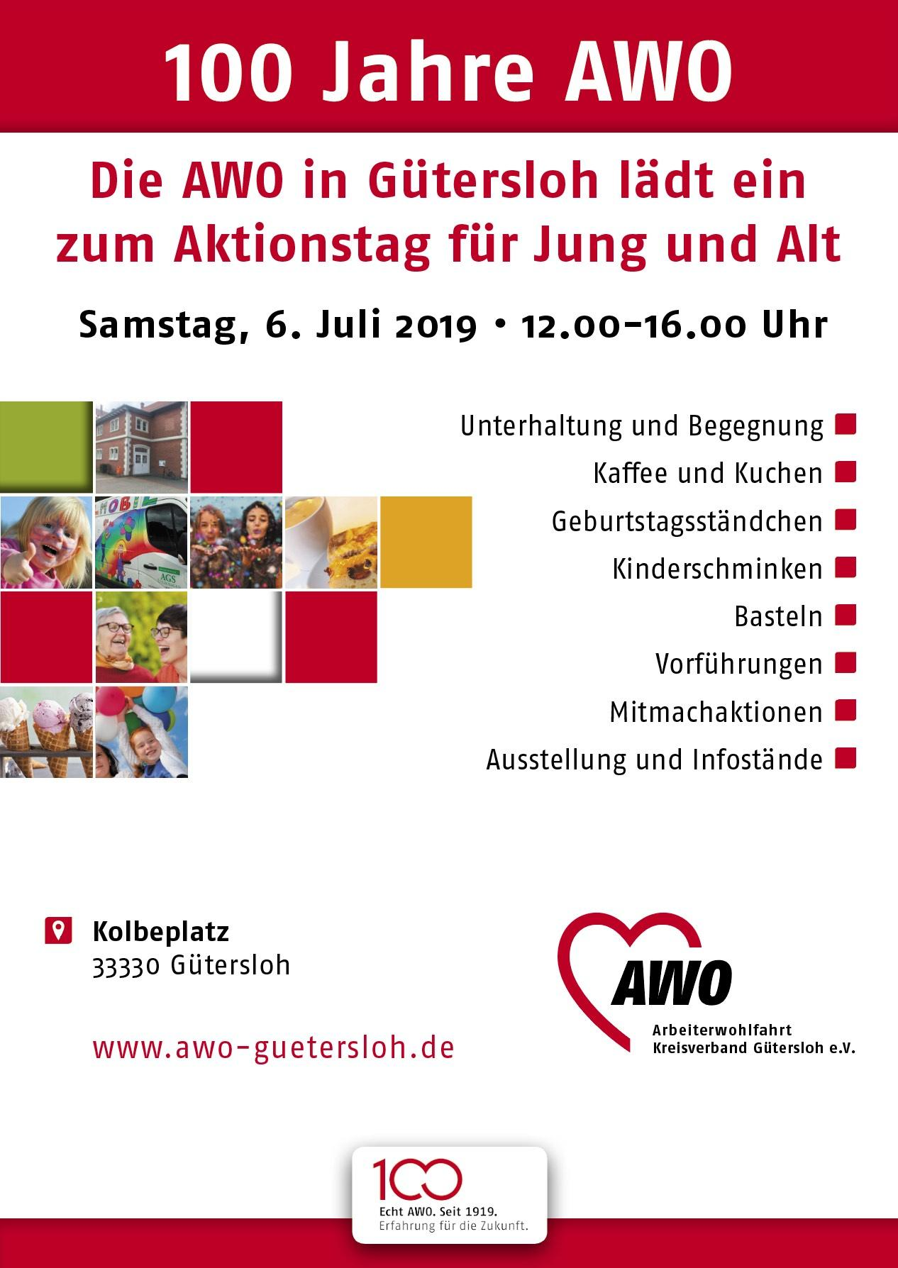 100 Jahre AWO Aktionstag Guetersloh